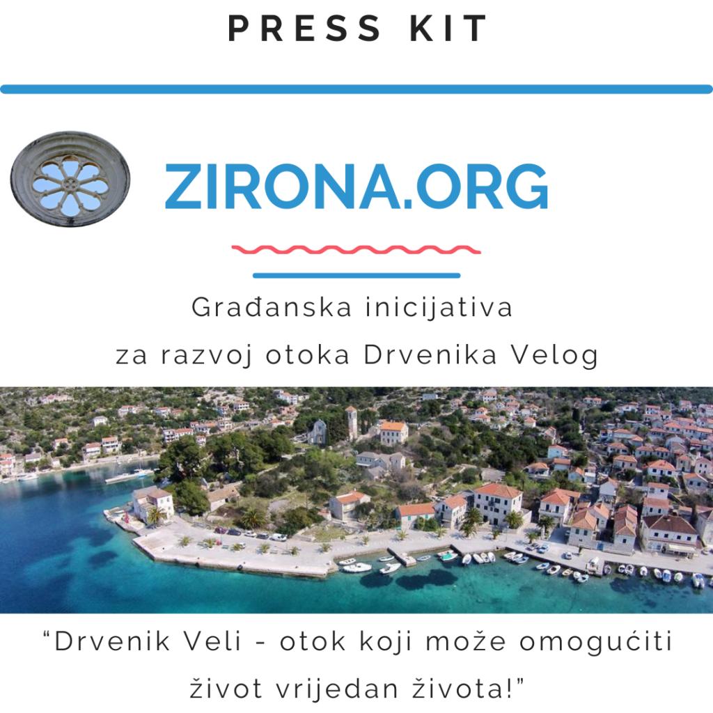 Press kit - novinarska mapa